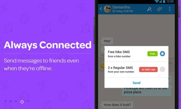 Hike Messenger introduces 'unlimited free SMS' plan