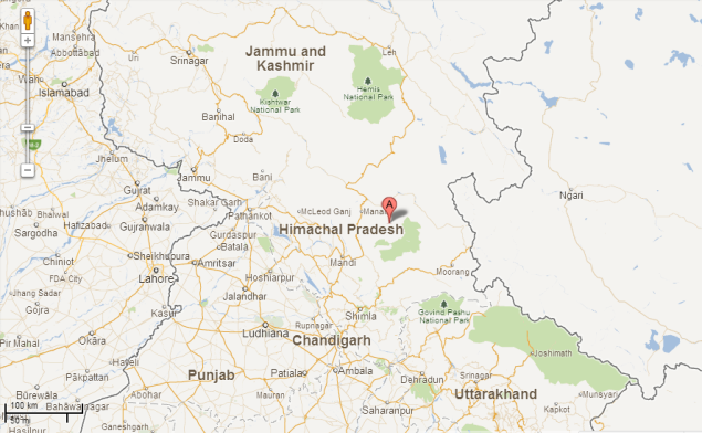 Himachal Polling Stations Now Traceable On Google Maps - Traceable world map
