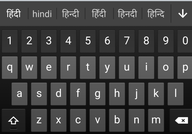 Swiftkey S New Keyboard Will Seamlessly Mix And Predict English ह न द Hinglish Words
