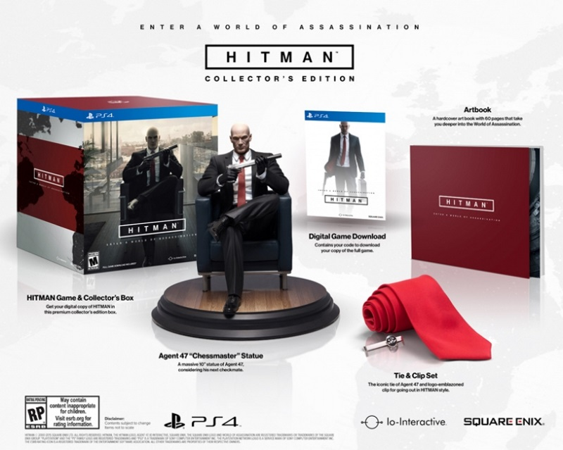 Hitman Gets a Collector's Edition