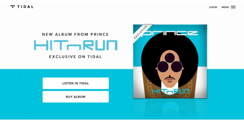 In Twist, Online Streaming Service Tidal Sells Prince CDs