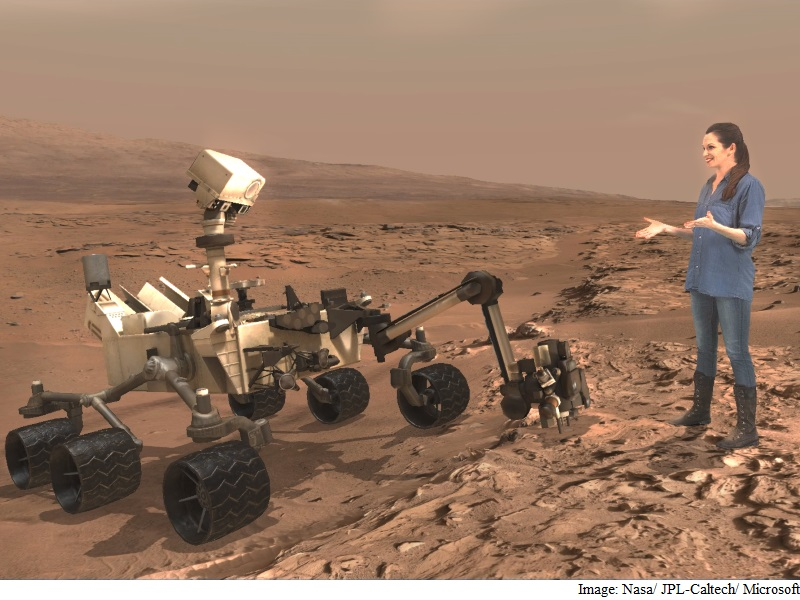 Microsoft, Nasa Partner to Bring You Closer to Mars With HoloLens
