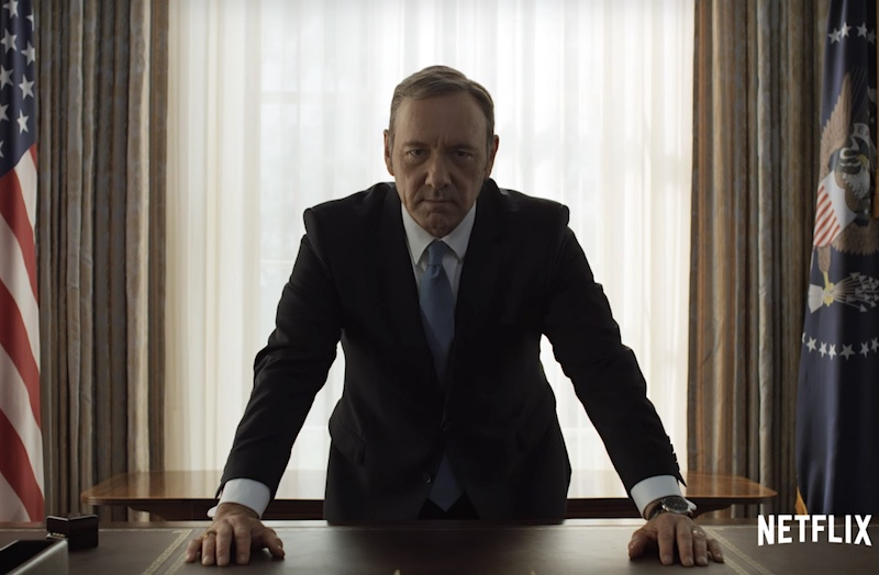 House of Cards Season 4 Trailer Shows President Underwood Up for Re-Election