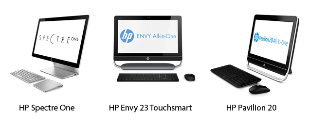 HP announces Windows 8 ready Envy, Pavilion and Spectre All-in-One PCs