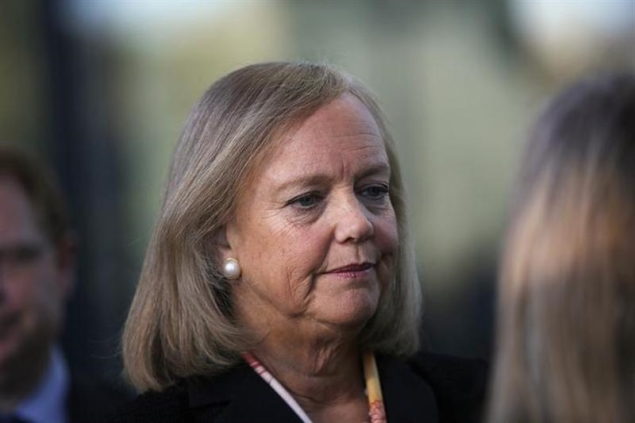 Armed with $1.5 billion, HP CEO on the prowl for acquisitions