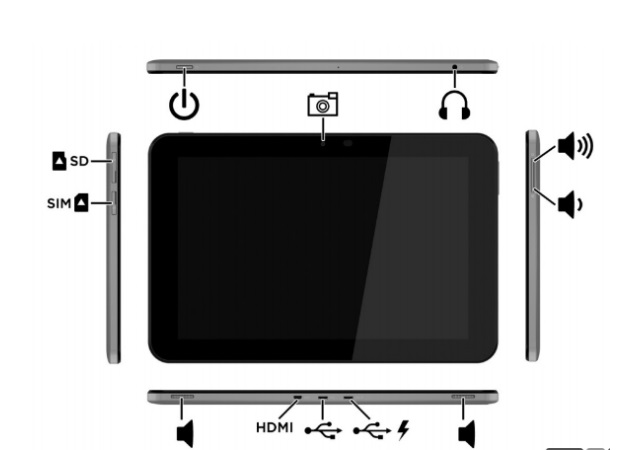 HP Android tablet spotted in FCC filing, with 10-inch display and SIM support