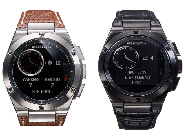 Hp S Mb Chronowing Is The Best Looking Smartwatch So Far