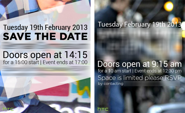 HTC M7 announcement expected at confirmed event in London on February 19