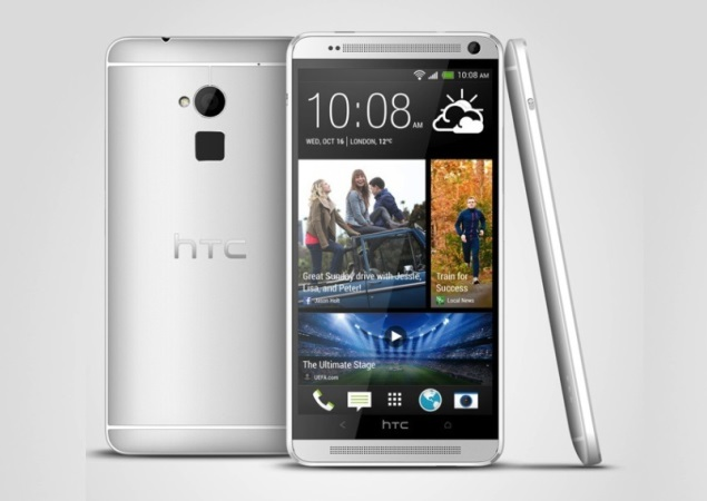 HTC One Max with 5.9-inch full-HD display, fingerprint scanner launched