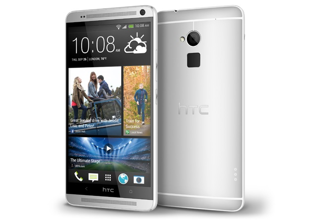 HTC One Max phablet with fingerprint scanner launched at Rs. 61,490