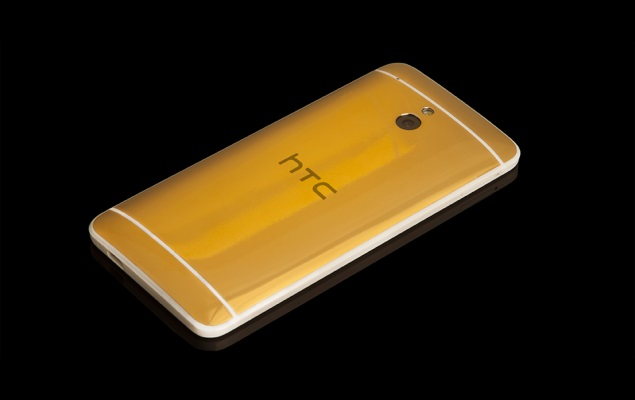 HTC One mini Gold edition now official at roughly Rs. 1,24,000