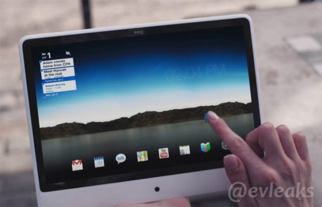 Upcoming HTC tablet leaked, sports unusual design