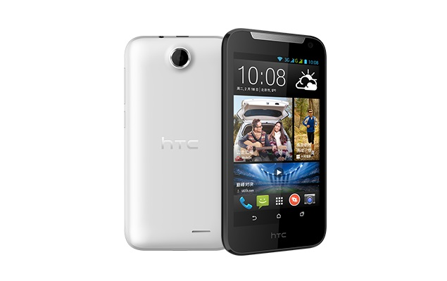 HTC Desire 310 with dual-SIM support listed on company's China site