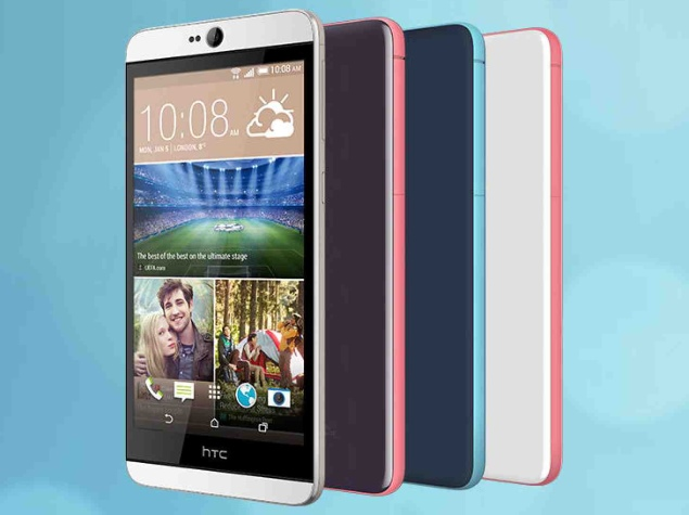 HTC Desire 826 With 4-UltraPixel Selfie Camera, Android 5.0 Lollipop Launched at CES