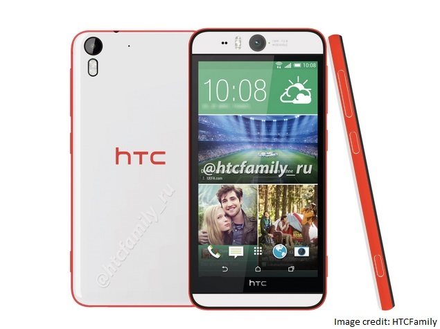 HTC Desire Eye and One (M8 Eye) Leaked Ahead of Wednesday Launch