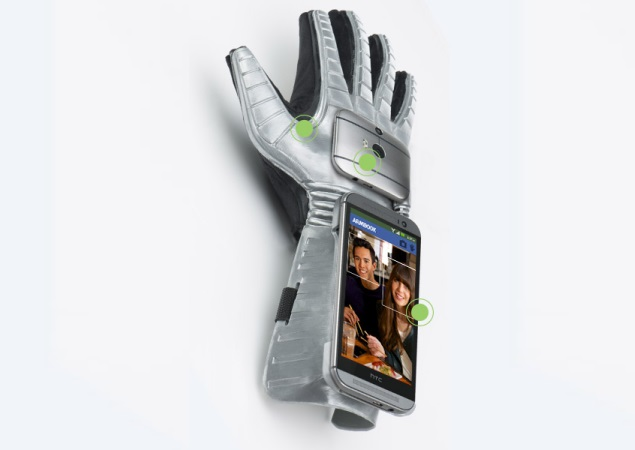 Samsung and HTC both show off smart-gloves on April Fools' Day