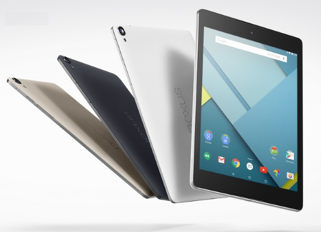 Google Nexus 9 32GB LTE Variant Now Available Online at Rs. 43,073