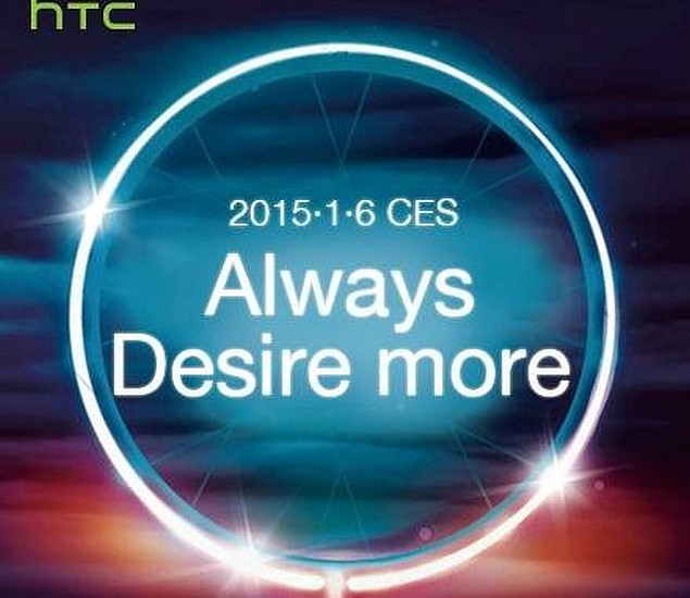 HTC Teases Launch of New Desire Series Smartphones at CES 2015