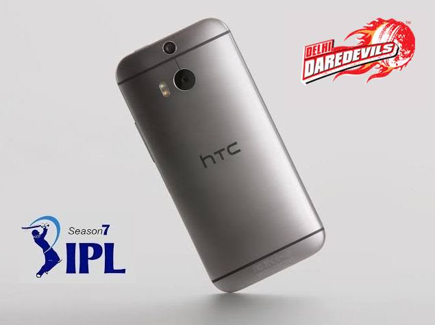 HTC One (M8) to be the 'official phone' for IPL 2014's Delhi Daredevils