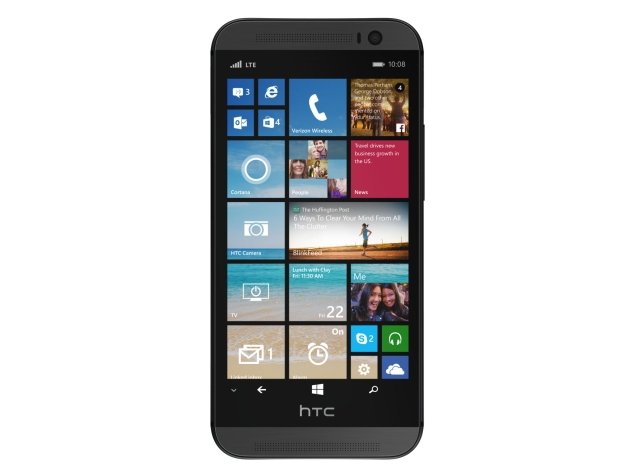 HTC One (M8) With Windows Phone 8.1 Spotted on Verizon Site Ahead of Launch