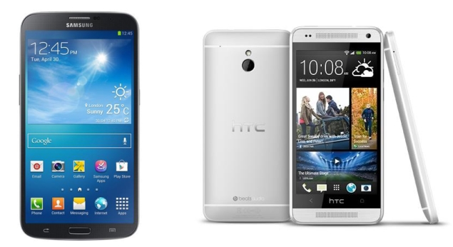 Samsung Galaxy Mega 6.3, HTC One Mini make their US debuts
