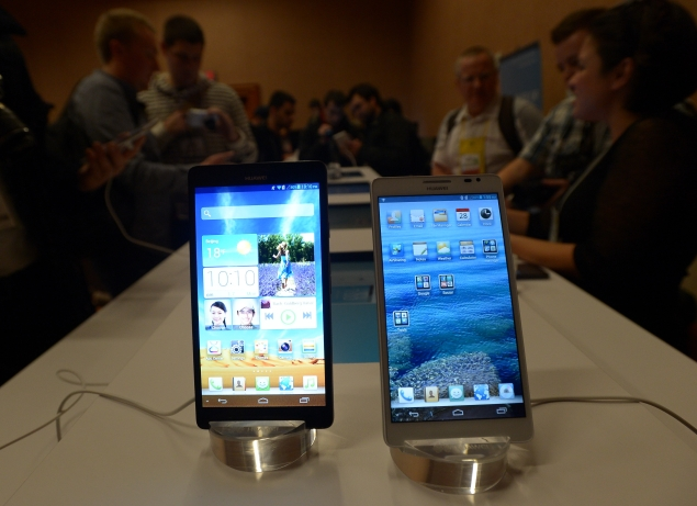 Huawei debuts 6.1-inch Ascend Mate and 5-inch Ascend D2