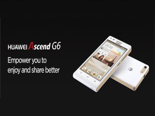 Huawei Ascend G6, MediaPad M1, MediaPad X1 launched at MWC