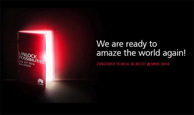 Huawei teases a smartphone and two tablets for February 23 MWC event