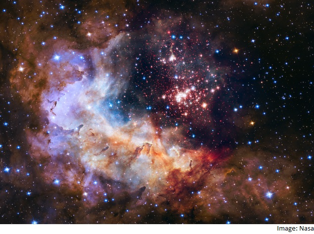 Hubble Telescope's 25th Anniversary Commemorated With Celestial Fireworks