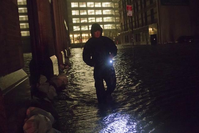 Sandy deals a blow to popular US websites