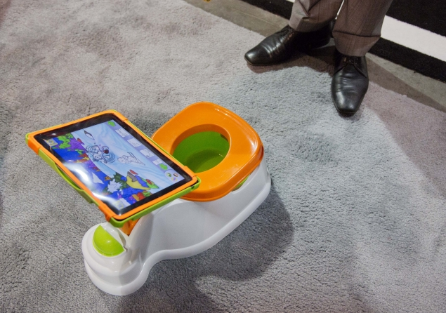 'Smart' potty or dumb idea? 6 wacky gadgets at CES