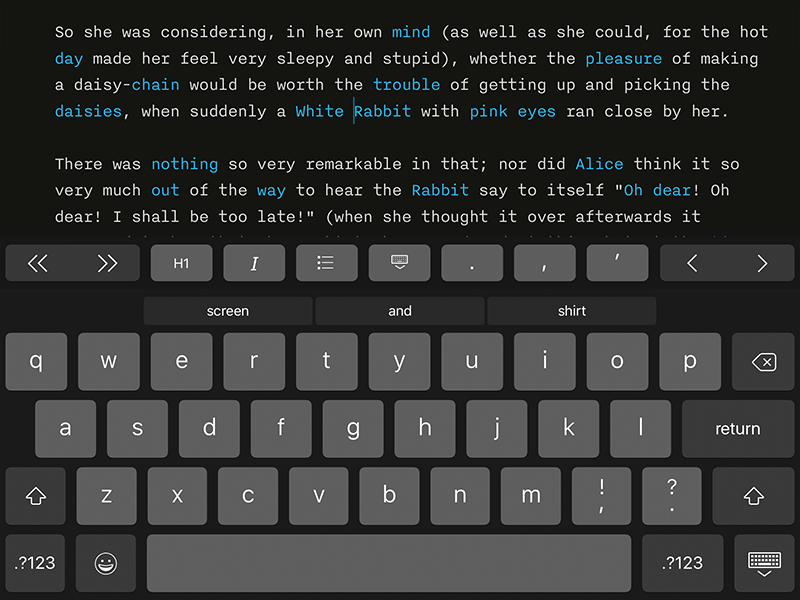 best writing apps for ipad 2019