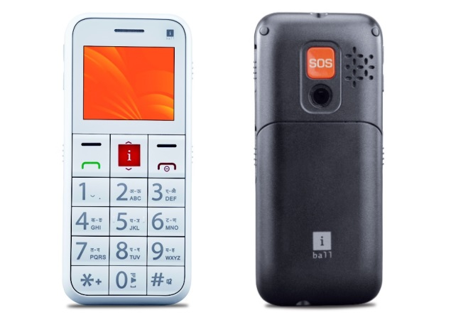 iBall Aasaan2 feature phone for senior citizens launched at Rs. 2,990