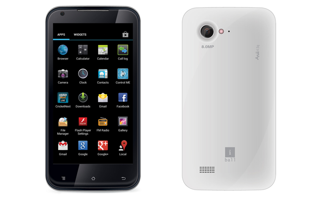 iBall launches Andi 4.5q with 1GHz dual-core processor, Android 4.1 for Rs. 11,490