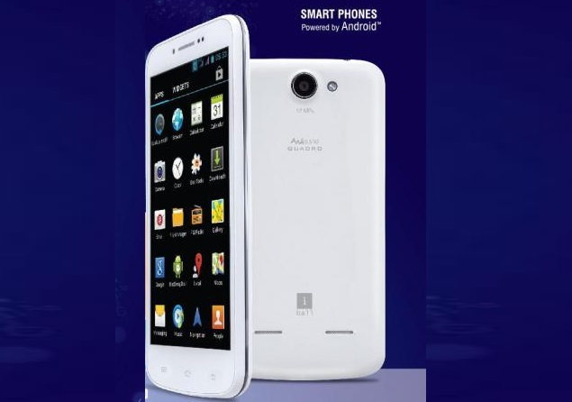 iBall Andi 5.5N2 Quadro with 5.5-inch HD display available online at Rs. 13,215