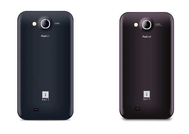 iBall Andi 5-E7 and Andi 5-M8 dual-core Android smartphones launched in India