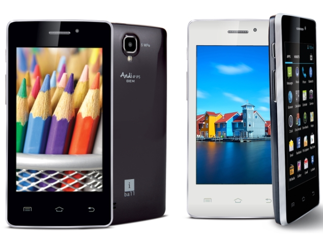 iBall Andi4 IPS Gem, Andi4 IPS Velvet Dual-SIM Android Smartphones Launched