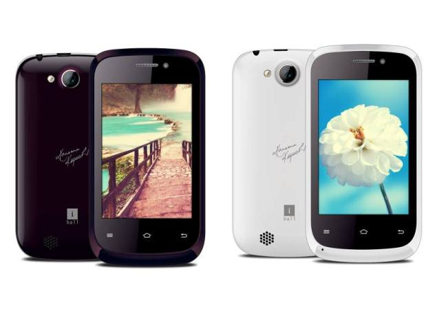 iBall Launches Andi 3.5 KKe Genius, Andi 3.5 KKe Winner Dual-SIM Android Smartphones