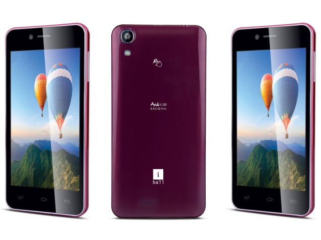 iBall Andi 4.5M Enigma With 8-Megapixel Front Camera Launched at Rs. 8,499