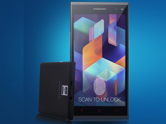 iberry Auxus Note 5.5 With Fingerprint Scanner Launched at Rs. 13,990