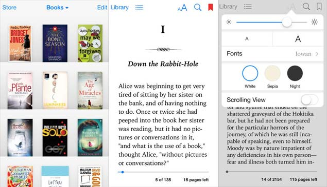 Five great apps for reading ebooks ndtv gadgets360 thisios app set the gold standard in ebook apps and continues to provide the most visually impressive book reading experience today fandeluxe Image collections