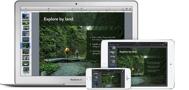 iWork update for iOS, OS X and iCloud brings ability to share password-protected files and more
