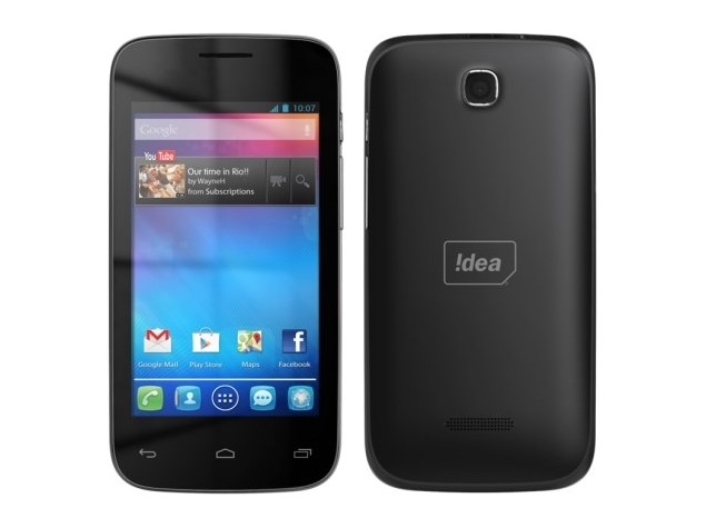 Idea Launches ID 4000 3G Smartphone With Bundled Data Plans at Rs. 4,999