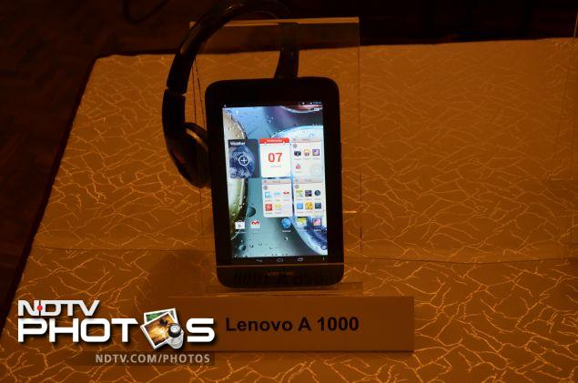 Lenovo launches A1000, A3000 and S6000 Android tablets in India