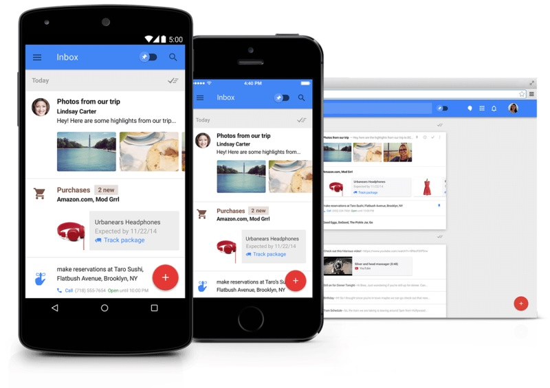 Google's Inbox by Gmail 'Smart Reply' Lets AI Reply to Your Emails