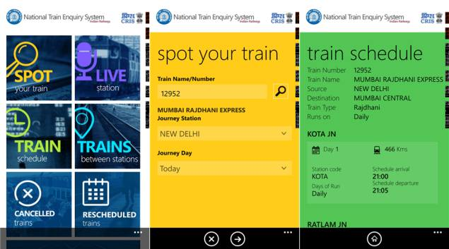 Indian Railways launches NTES app for tracking trains and