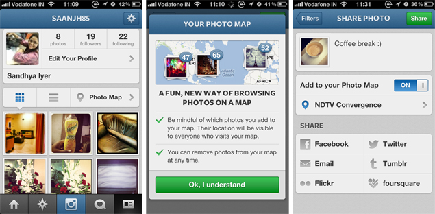 Instagram Down News: Instagram 3.0 Brings Photo Maps And More To IOS, Android
