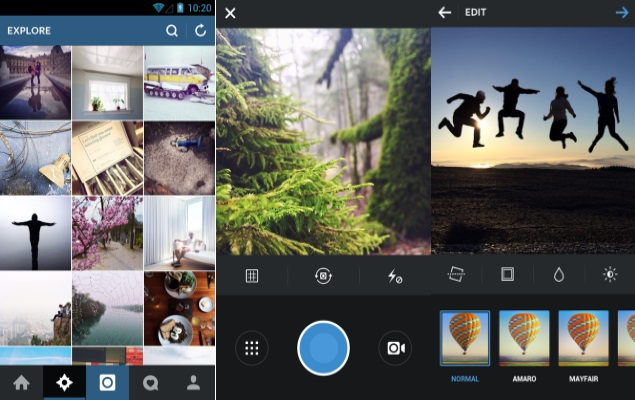 Instagram for Android Is Updated with Support to Tablet Computers and Multimedia Devices