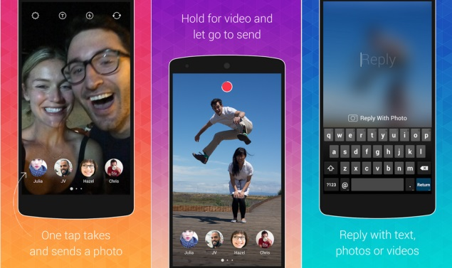 Instagram Launches Bolt Messaging App to Rival Snapchat