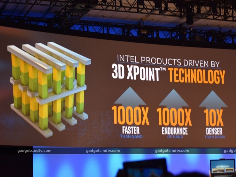 Intel Announces Optane SSDs and RAM Based on Non-Volatile 3D XPoint Tech